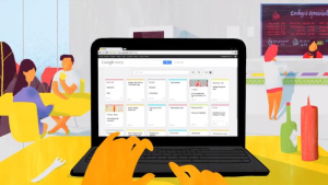 Vista de escritorio de Google Keep